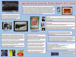 Primary view of object titled 'Serge Jaroff and the Don Cossack Choir: the State of Research in the 21st Century'.