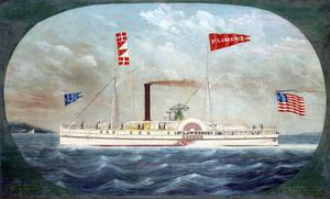 Primary view of Steamer ''Saint Lawrence''
