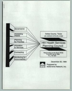 Primary view of object titled '[HIV Health Services Planning Council]'.