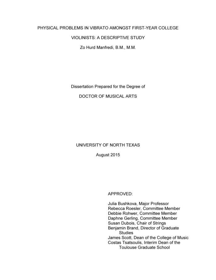 descriptive study dissertation