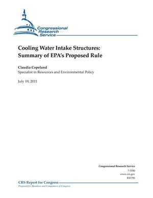 Primary view of object titled 'Cooling Water Intake Structures: Summary of EPA's Proposed Rule'.