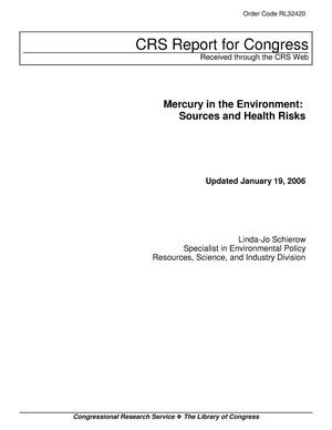 Primary view of object titled 'Mercury in the Environment: Sources and Health Risks'.