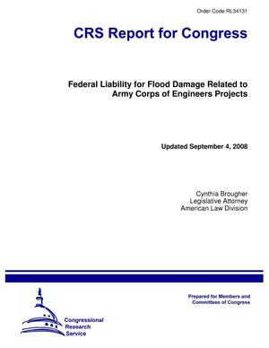 Primary view of object titled 'Federal Liability for Flood Damage Related to Army Corps of Engineers Projects'.