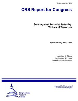 Primary view of object titled 'Suits Against Terrorist States by Victims of Terrorism'.