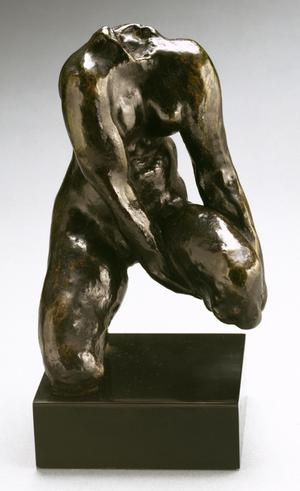 Primary view of object titled 'Crouching Woman'.