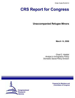 Primary view of object titled 'Unaccompanied Refugee Minors'.