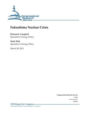 Primary view of object titled 'Fukushima Nuclear Crisis'.