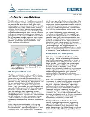 Primary view of object titled 'U.S.-North Korea Relations'.