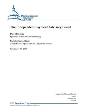 Primary view of object titled 'The Independent Payment Advisory Board'.