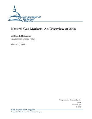 Primary view of object titled 'Natural Gas Markets: An Overview of 2008'.