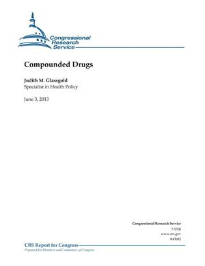 Primary view of object titled 'Compounded Drugs'.