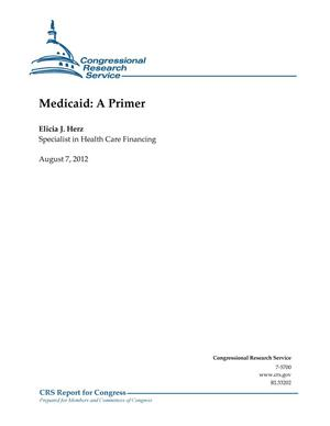Primary view of object titled 'Medicaid: A Primer'.