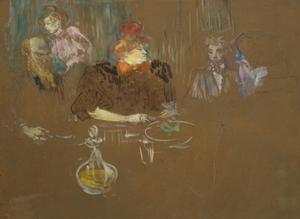 Primary view of object titled 'At the Table of Monsieur and Madame Natanson'.