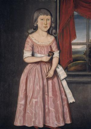 Primary view of Girl in a Pink Dress