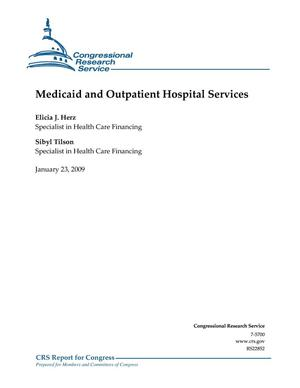 Primary view of object titled 'Medicaid and Outpatient Hospital Services'.