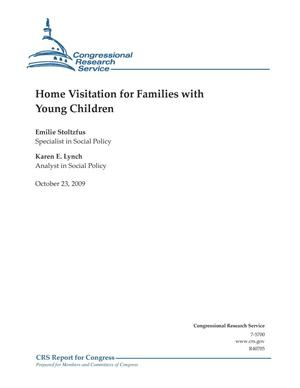 Primary view of object titled 'Home Visitation for Families with Young Children'.
