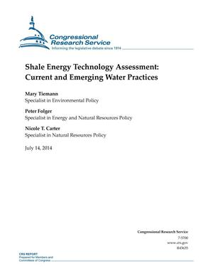Primary view of object titled 'Shale Energy Technology Assessment: Current and Emerging Water Practices'.