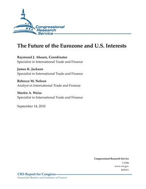 Primary view of object titled 'The Future of the Eurozone and U.S. Interests'.