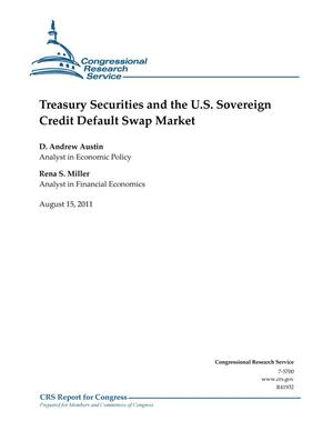 Primary view of object titled 'Treasury Securities and the U.S. Sovereign Credit Default Swap Market'.