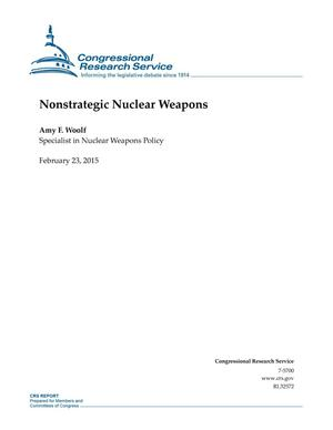 Primary view of object titled 'Nonstrategic Nuclear Weapons'.