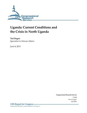 Primary view of object titled 'Uganda: Current Conditions and the Crisis in North Uganda'.