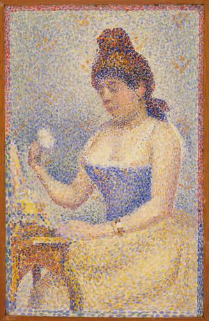 Primary view of Young Woman Powdering Herself