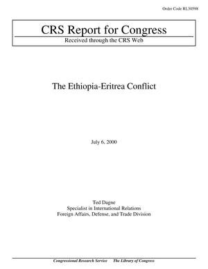 Primary view of object titled 'The Ethiopia-Eritrea Conflict'.