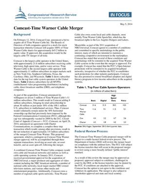Primary view of object titled 'Comcast-Time Warner Cable Merger'.