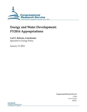 Primary view of object titled 'Energy and Water Development: FY2014 Appropriations'.