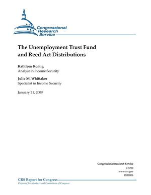Primary view of object titled 'The Unemployment Trust Fund and Reed Act Distributions'.
