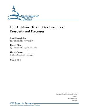 Primary view of object titled 'U.S. Offshore Oil and Gas Resources: Prospects and Processes'.