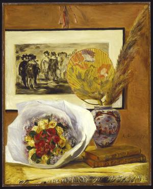 Primary view of object titled 'Still Life with Bouquet'.