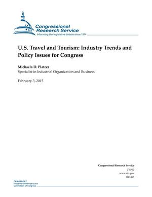 Primary view of object titled 'U.S. Travel and Tourism: Industry Trends and Policy Issues for Congress'.