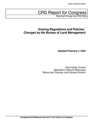 Primary view of object titled 'Grazing Regulations and Policies: Changes by the Bureau of Land Management'.