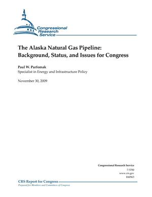 Primary view of object titled 'The Alaska Natural Gas Pipeline: Background, Status, and Issues for Congress'.