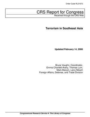 Primary view of object titled 'Terrorism in Southeast Asia'.