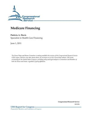Primary view of object titled 'Medicare Financing'.