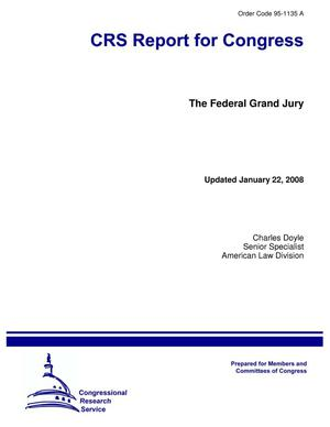Primary view of object titled 'The Federal Grand Jury'.