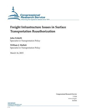 Primary view of object titled 'Freight Infrastructure Issues in Surface Transportation Reauthorization'.