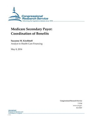 Primary view of object titled 'Medicare Secondary Payer: Coordination of Benefits'.