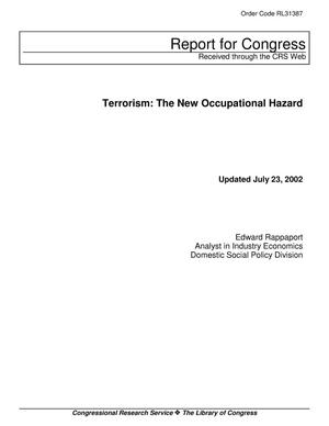 Primary view of object titled 'Terrorism: The New Occupational Hazard'.