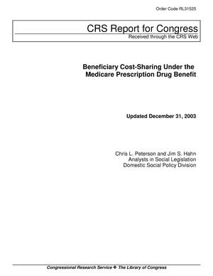 Primary view of object titled 'Beneficiary Cost-Sharing Under the Medicare Prescription Drug Benefit'.