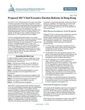 Primary view of object titled 'Proposed 2017 Chief Executive Election Reforms in Hong Kong'.