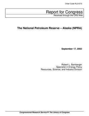 Primary view of object titled 'The National Petroleum Reserve – Alaska (NPRA)'.