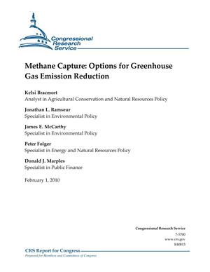 Primary view of object titled 'Methane Capture: Options for Greenhouse Gas Emission Reduction'.