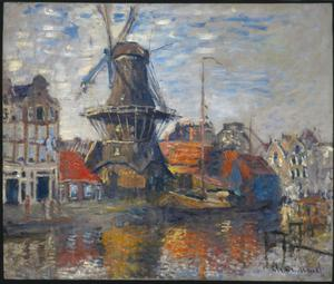 Primary view of object titled 'The Windmill, Amsterdam'.