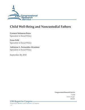 Primary view of object titled 'Child Well-Being and Noncustodial Fathers'.