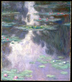 Primary view of object titled 'Water Lilies (Nymphéas)'.