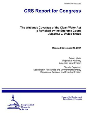 Primary view of object titled 'The Wetlands Coverage of the Clean Water Act Is Revisited by the Supreme Court: Rapanos v. United States'.