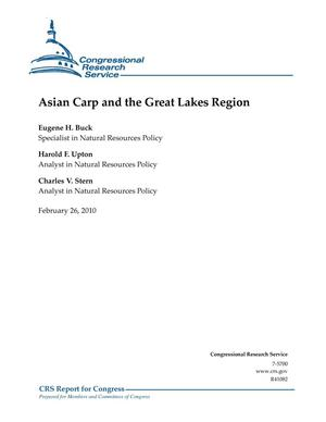 Primary view of object titled 'Asian Carp and the Great Lakes Region'.